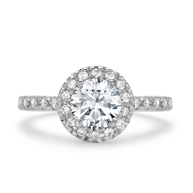 click zoom diamond to white gold ring cluster carat rings