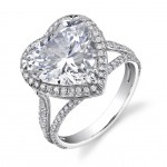 heart-shaped-engagement-ring