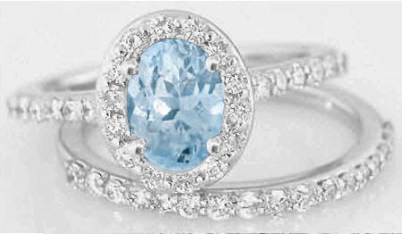 rings features some aquamarine engagement diamond of aqua wedding promise