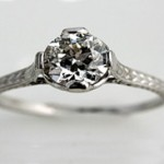 silver-vintage-engagement-ring