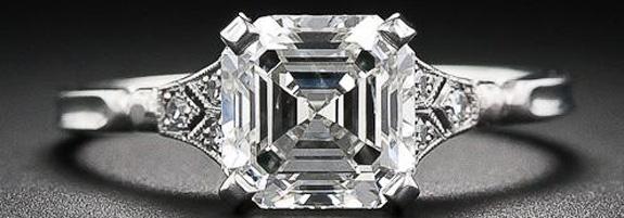 asscher cut engagement ring engagement rings wiki