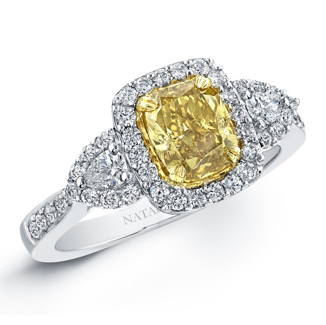 yellow coloured engagement ring engagement rings wiki
